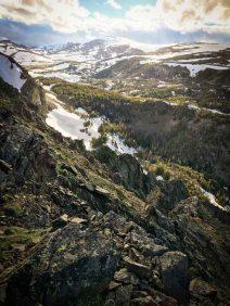 Montana Absaroka-Beartooth Wilderness Epic View