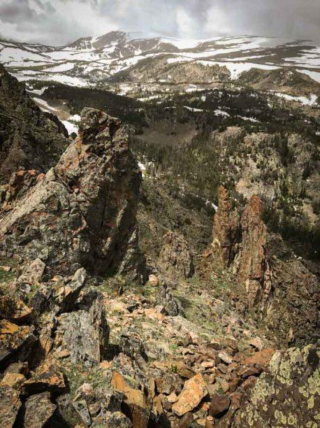 Absaroka-Beartooth Wilderness Montana Trails