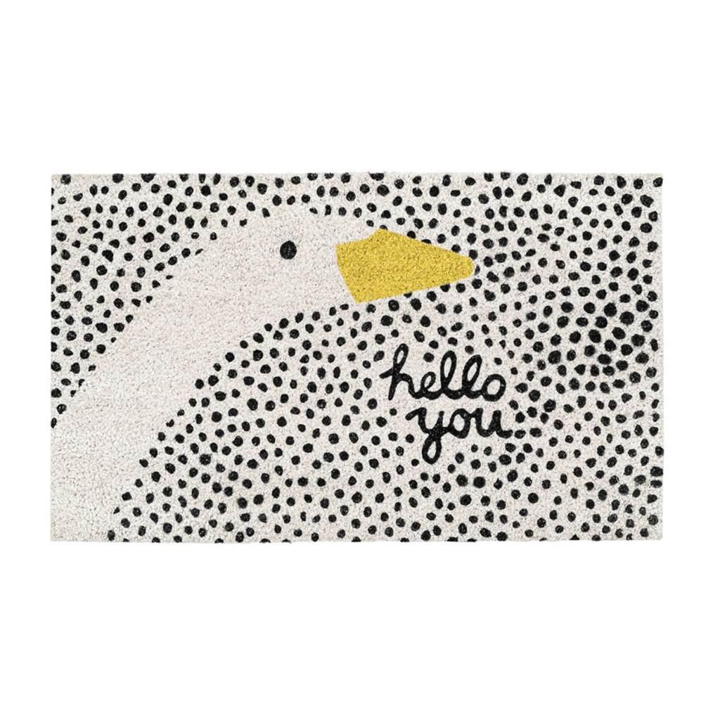 Hello Goose Doormat