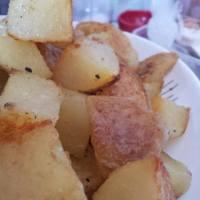patate al forno.... oven roasted potatoes