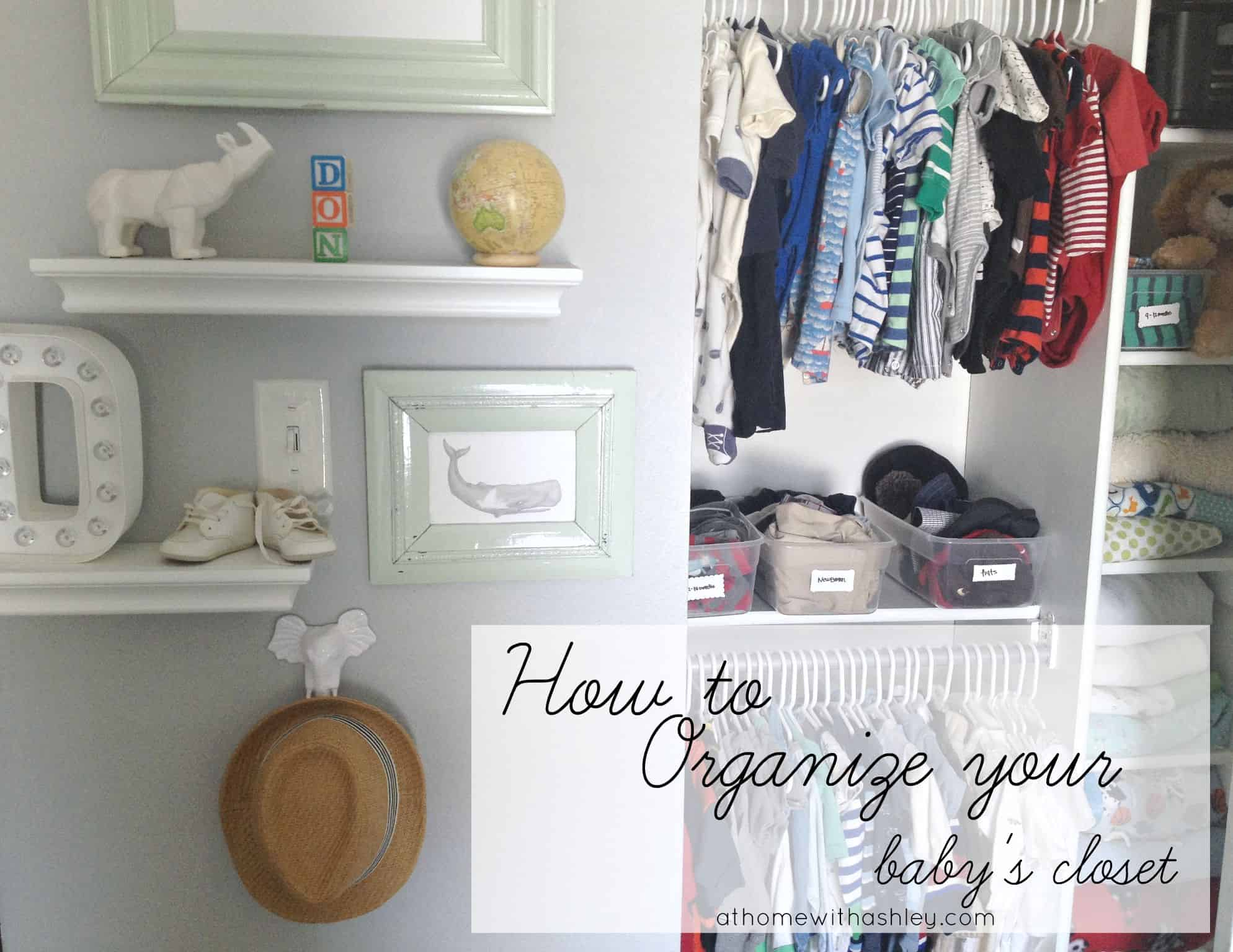 e953a2391d the best way to organize your baby s closet. Tips for DIY storage solutions  in small