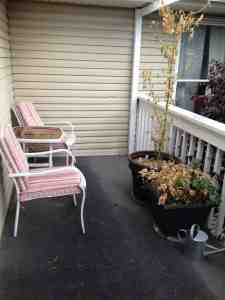 how to update patio furniture before