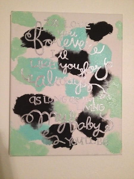 creating art for your home with your baby 8 9 10 months beautiful art
