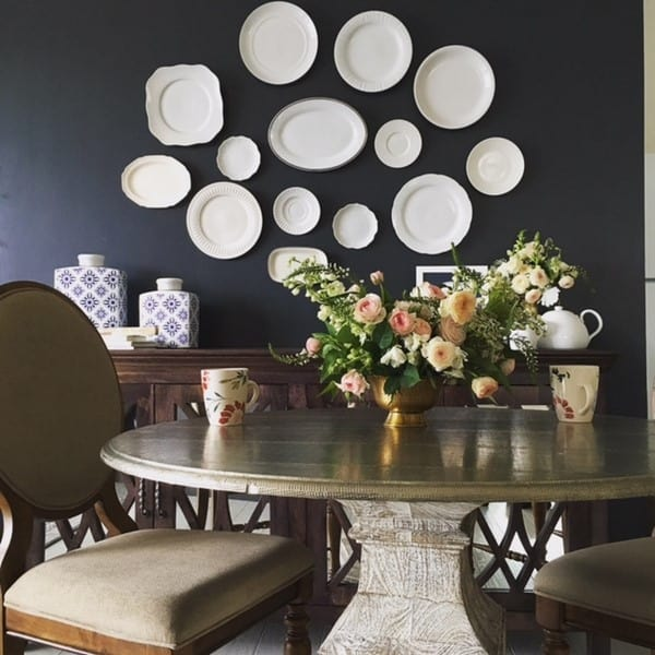 How To Create A Plate Wall Hanging For Less Than 30 At