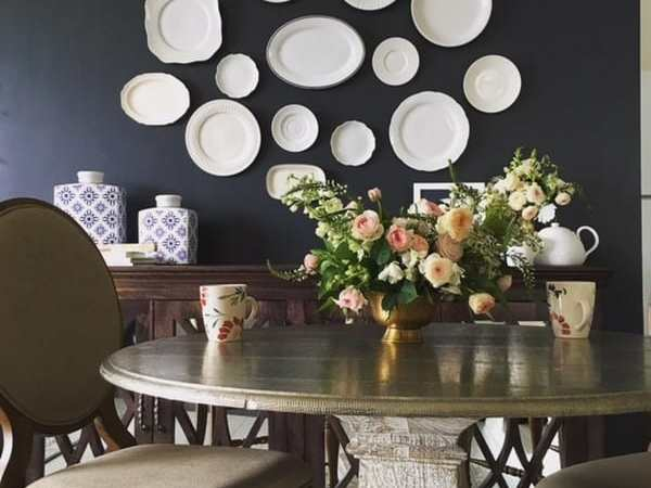 How to create a Plate Wall hanging for less than $30
