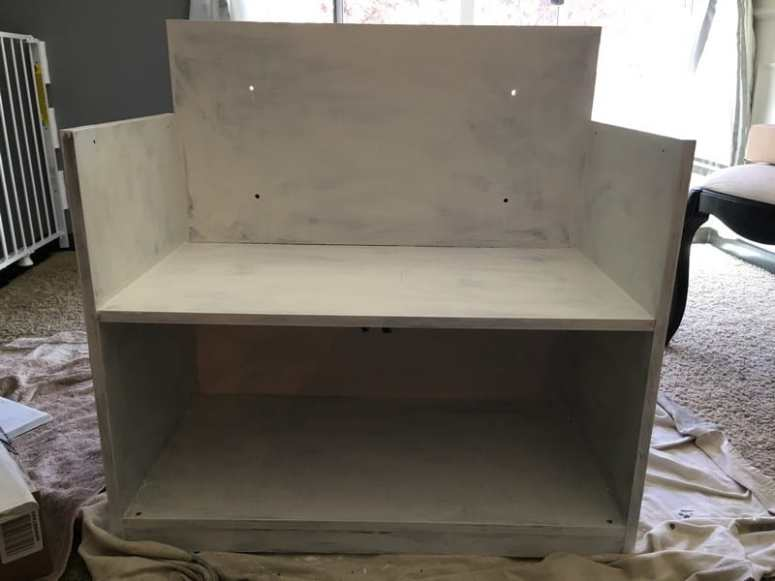 how to make a play kitchen from an entertainment center (11)