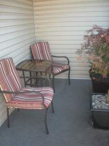 how to update your old patio furniture before