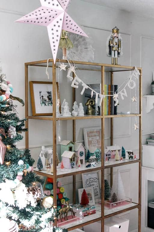 West Elm Christmas Display.Living Room Reveal And Christmas Decor At Home With Ashley