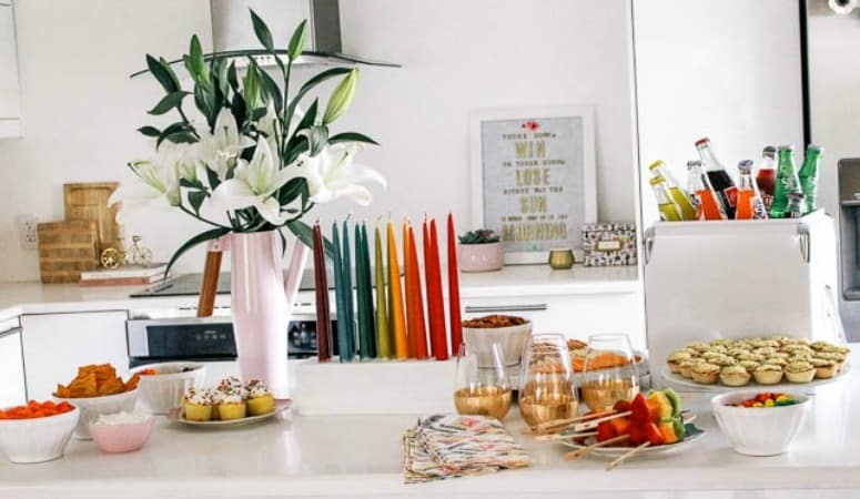 Bright and Colorful Big Game Party