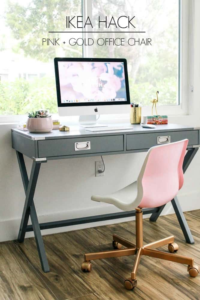 Incredible Office Reveal At Home With Ashley Pabps2019 Chair Design Images Pabps2019Com