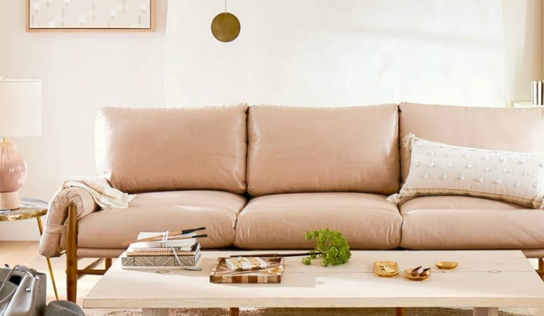 Surprising The Ultimate Blush Pink Sofa Roundup At Home With Ashley Interior Design Ideas Gentotthenellocom