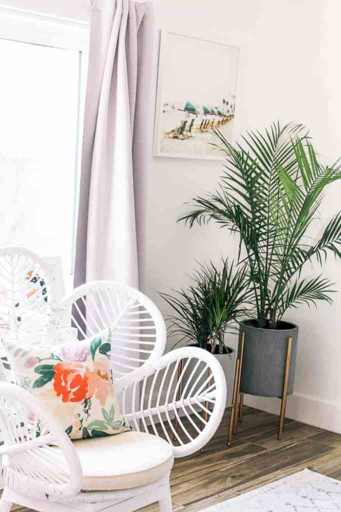 My living room was almost complete, but it was still feeling sparse. See how I did a $500 living room refresh to decorate the space on a budget!