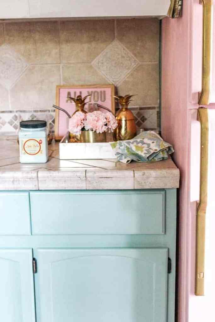 Diy Peel And Stick Backsplash Tile At Home With Ashley