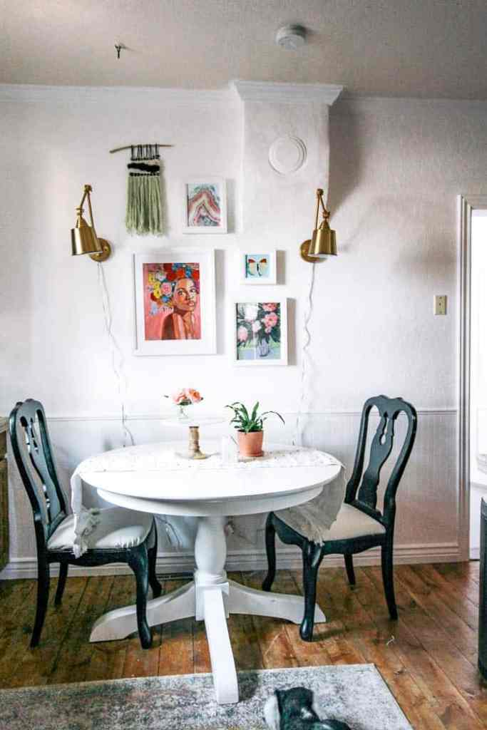 How to Have Sconces without Power or Cords - at home with Ashley