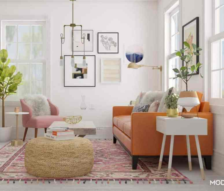 A New Living Room Layout and an Edesign Review - at home
