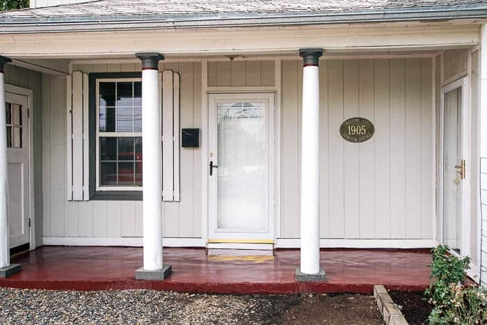 How To Paint Your Front Porch At Home With Ashley