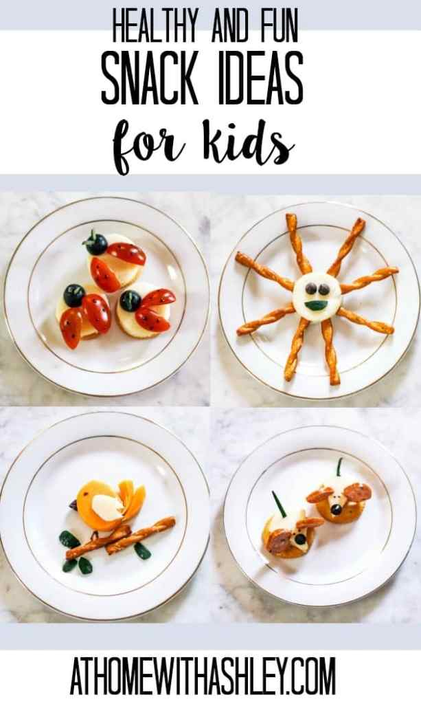 Healthy Snack Ideas for Kids that are so fun they'll eat them right up! These are full of cheese, and veggies (and a few chocolate chips)- perfect for children