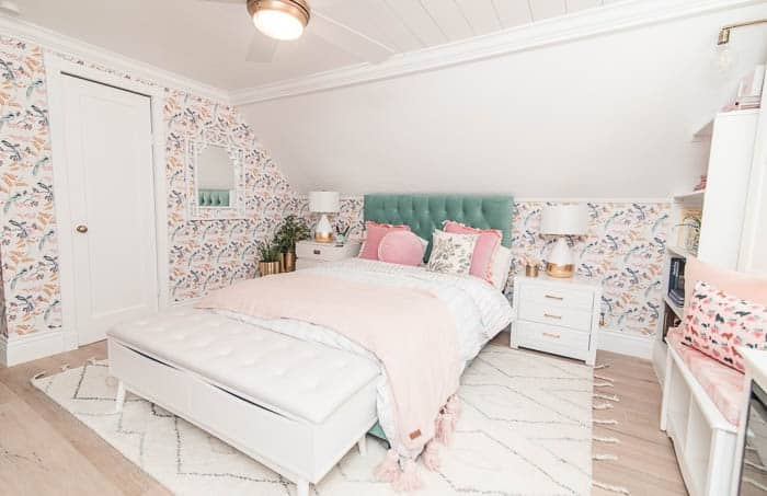 Decorating with Slanted Ceilings - at home with Ashley