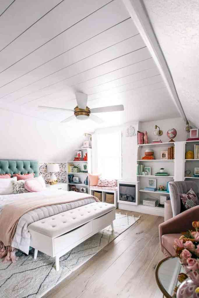 How To Install A Shiplap Ceiling At Home With Ashley