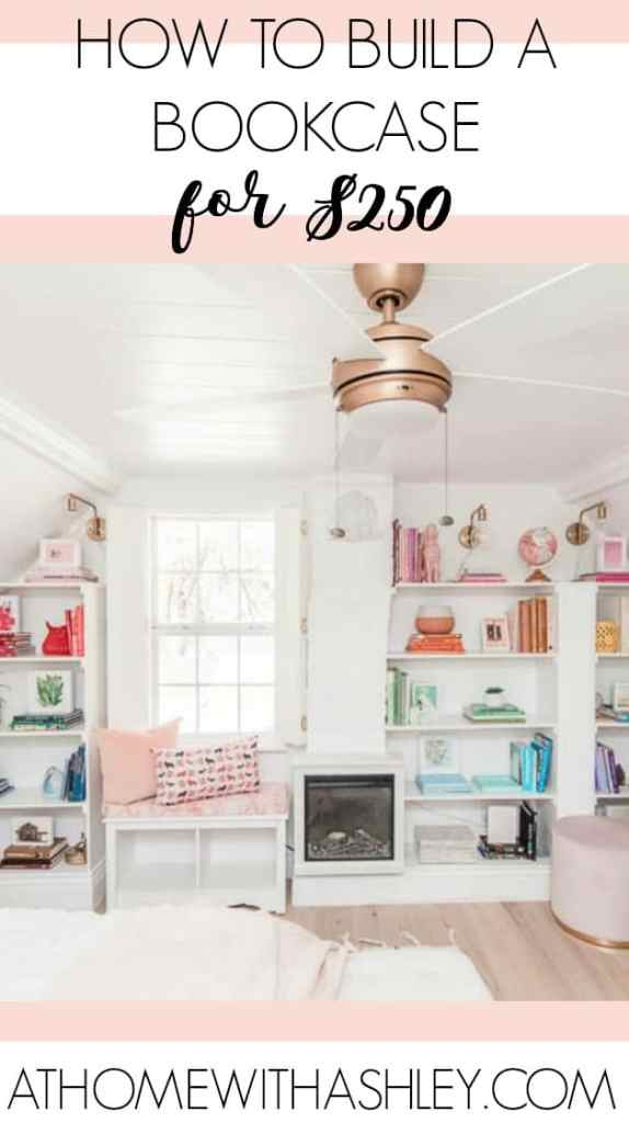 Pleasant Diy Built In Bookcase At Home With Ashley Download Free Architecture Designs Lukepmadebymaigaardcom