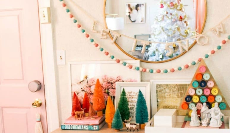 Winter Eclectic Home Tour 2018
