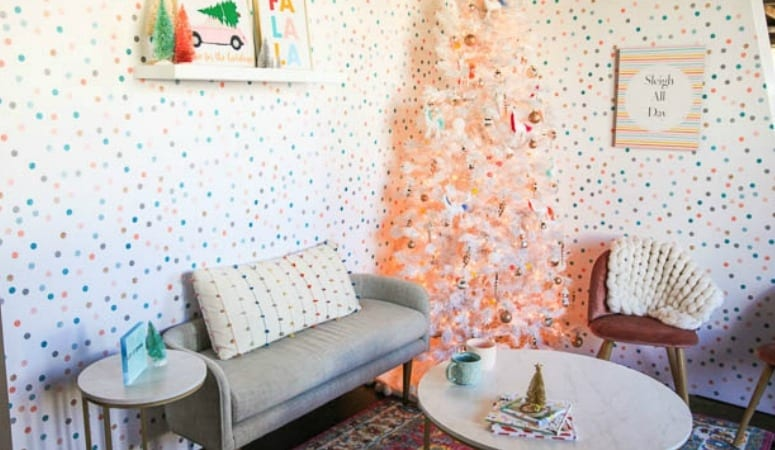 Create Celebrate Holiday Living Room