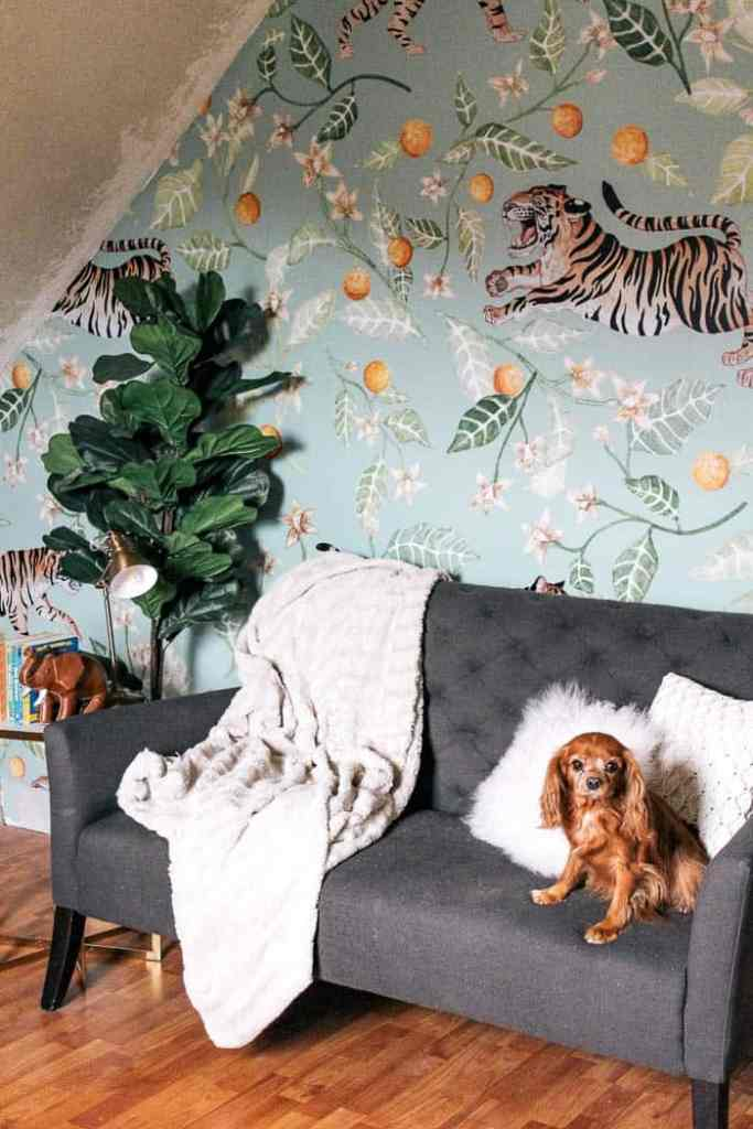 How To Install Removable Wallpaper At Home With Ashley