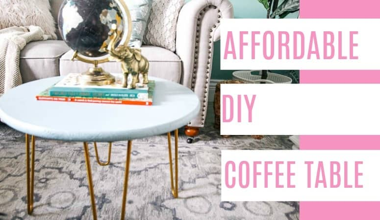 Affordable DIY Coffee Table