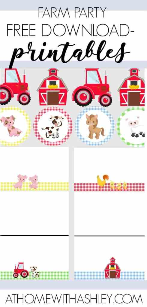Farm Birthday Party For Toddler Kids Im Sharing The Decorations Invitations