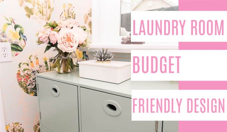 Budget Friendly Version Laundry Room