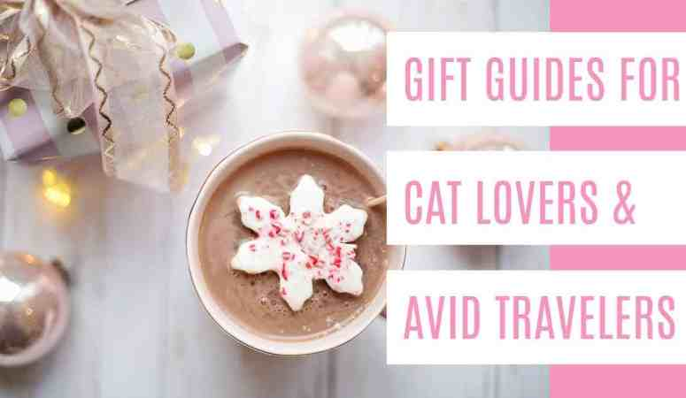 Gift Guides for Cat Lovers + Avid Travelers