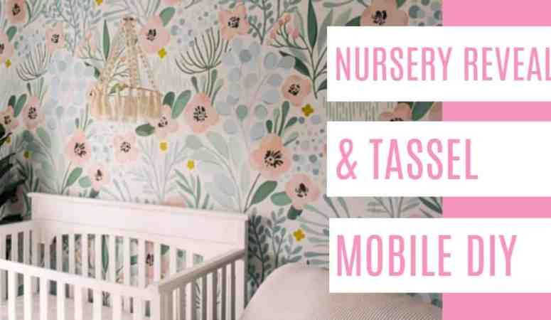 DIY Tassel Baby Mobile