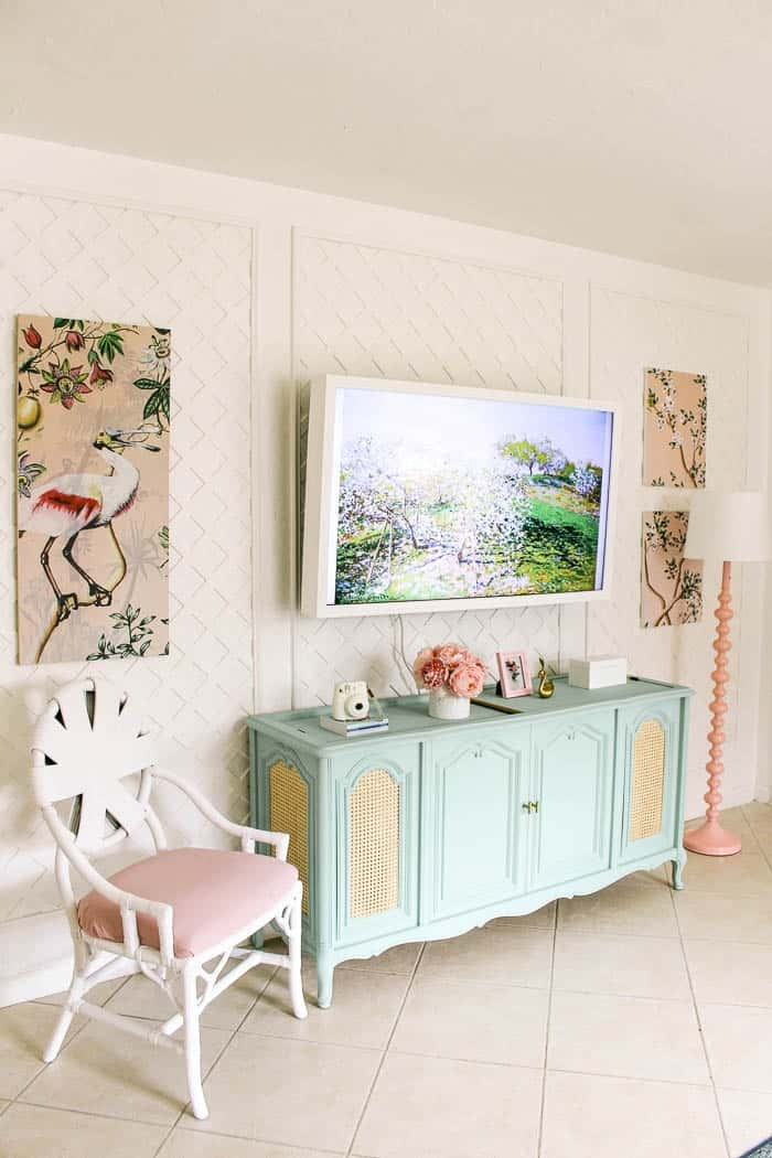 florida house tour. A virtual house tour of my small modern becah home with a video walk through. It's a boho colorful house with lots of pink. Click through to see this 2020 house that's now an air bnb