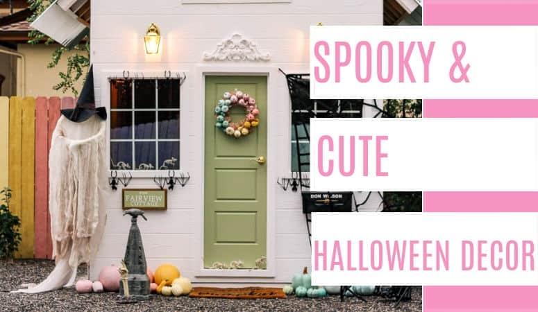 Spooky and Cute Halloween Decor
