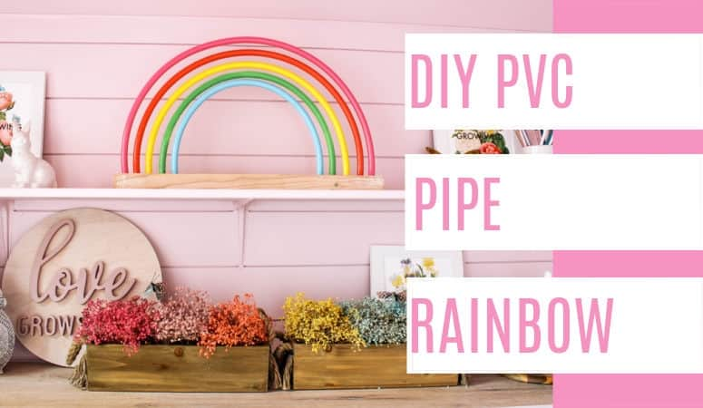 PVC Pipe Rainbow