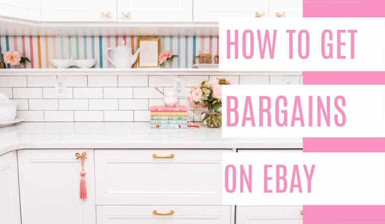 How to get Bargains on eBay