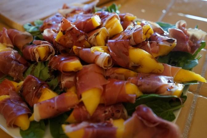 Prosciutto and Mango