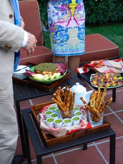 Appetizers in the Garden