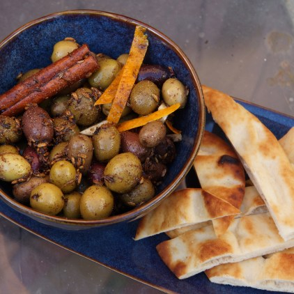 Moroccan Olives (Moroccan Feast)