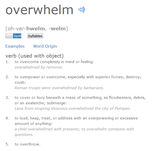 Overwhelm_definition
