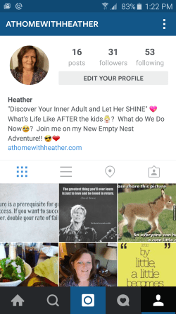 Instagram-profile