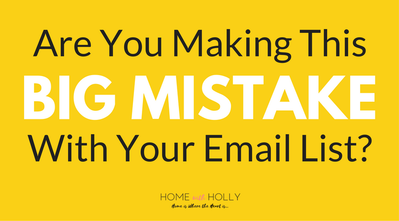 Strategies for a Healthy Email List