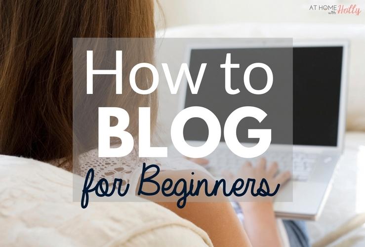 Blogging For Beginners | Money