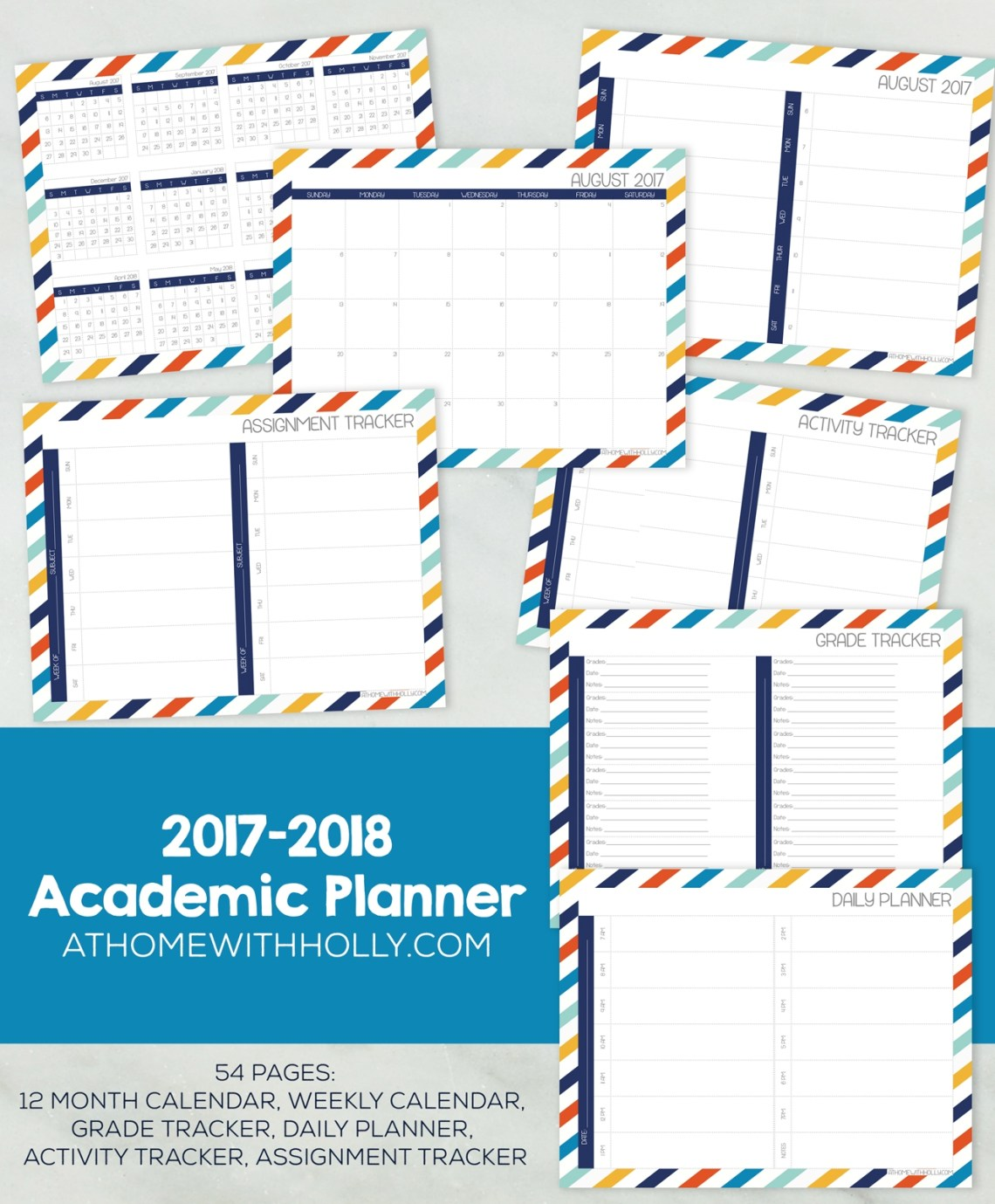 student daily planner