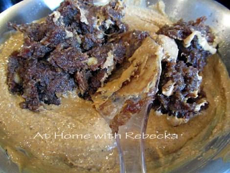 Peanut Butter, Almond Butter, Coconut Date Roll Paste