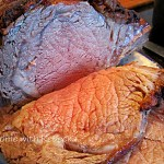 Christmas Prime Rib Roast with Red Wine Gravy and a Sad Christmas Tale!