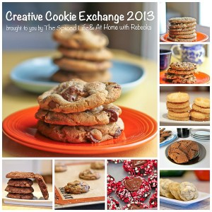Creative Cookie Exchange brought to you by The Spiced Life and At Home with Rebecka