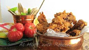 Fried chicken Livers