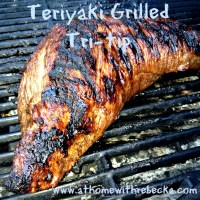 Beef Teriyaki Tri-Tip Roast Grilled to Perfection