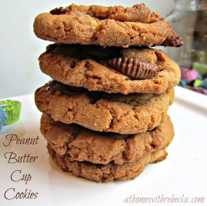 Peanut Butter Cup Cookies (Stuffed Peanut Butter Cookies)